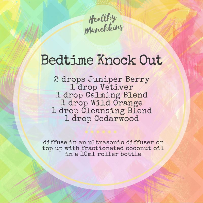 Diffuser blend - bedtime knock out - healthy munchkins