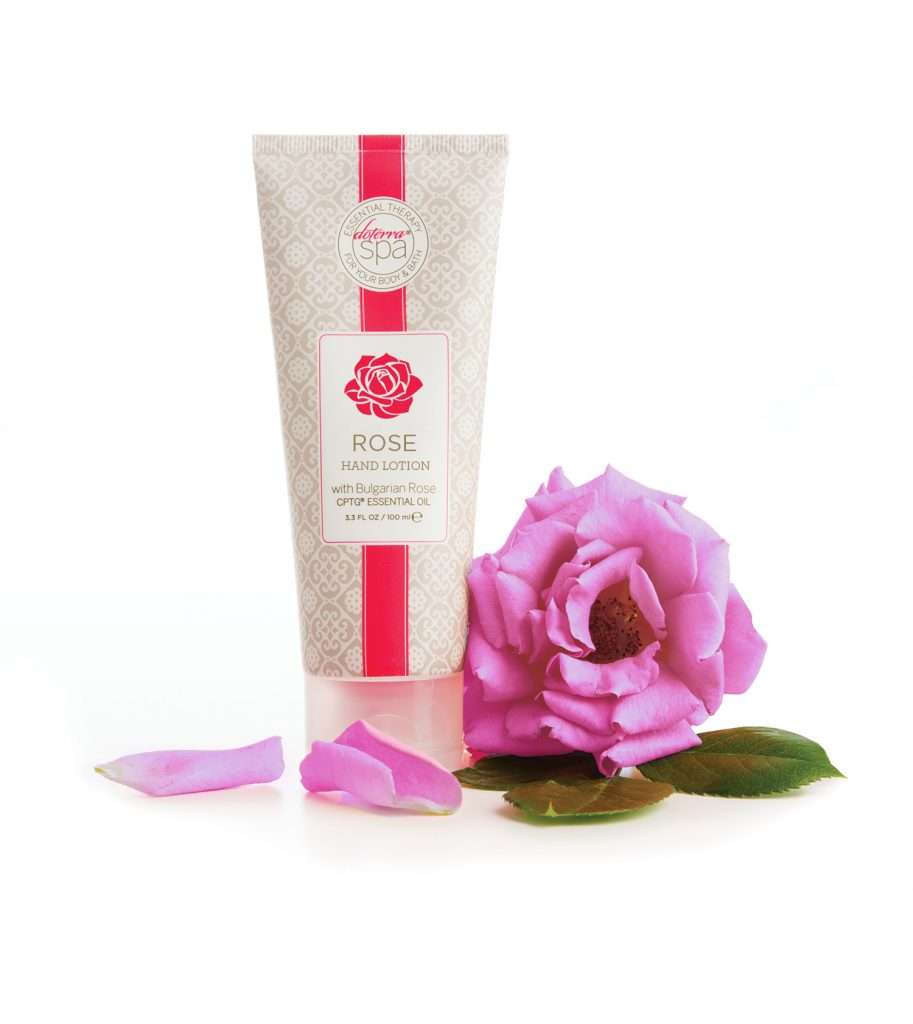 Healing hands rose lotion