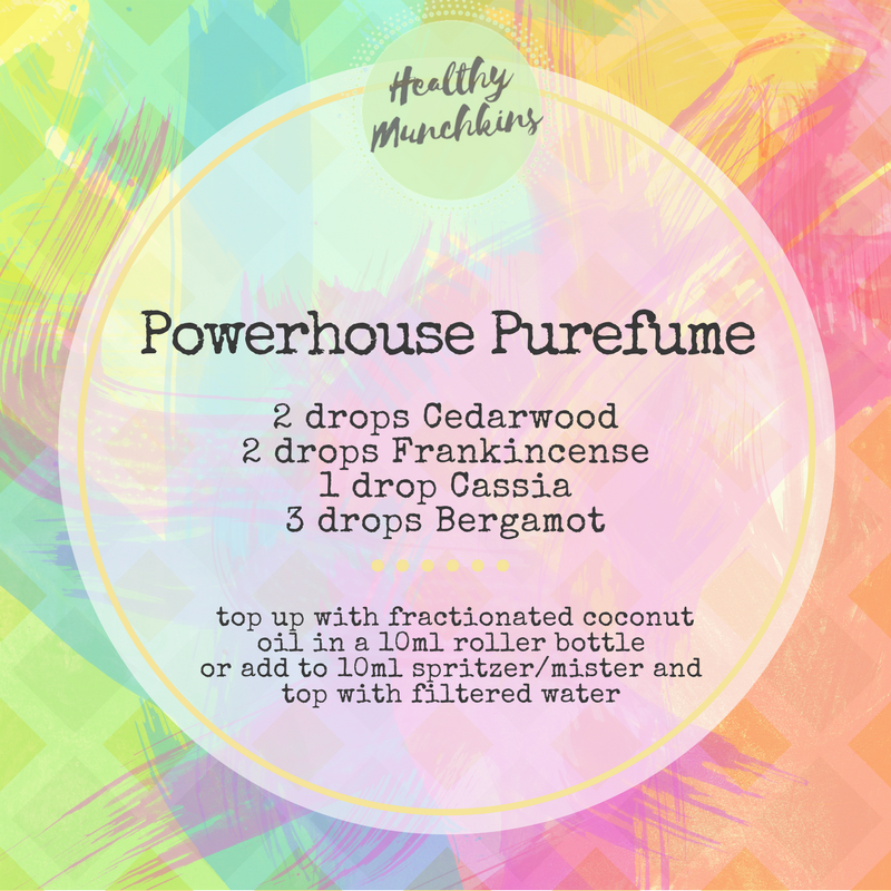 Topical blend - Powerhouse Purefume - healthy munchkins