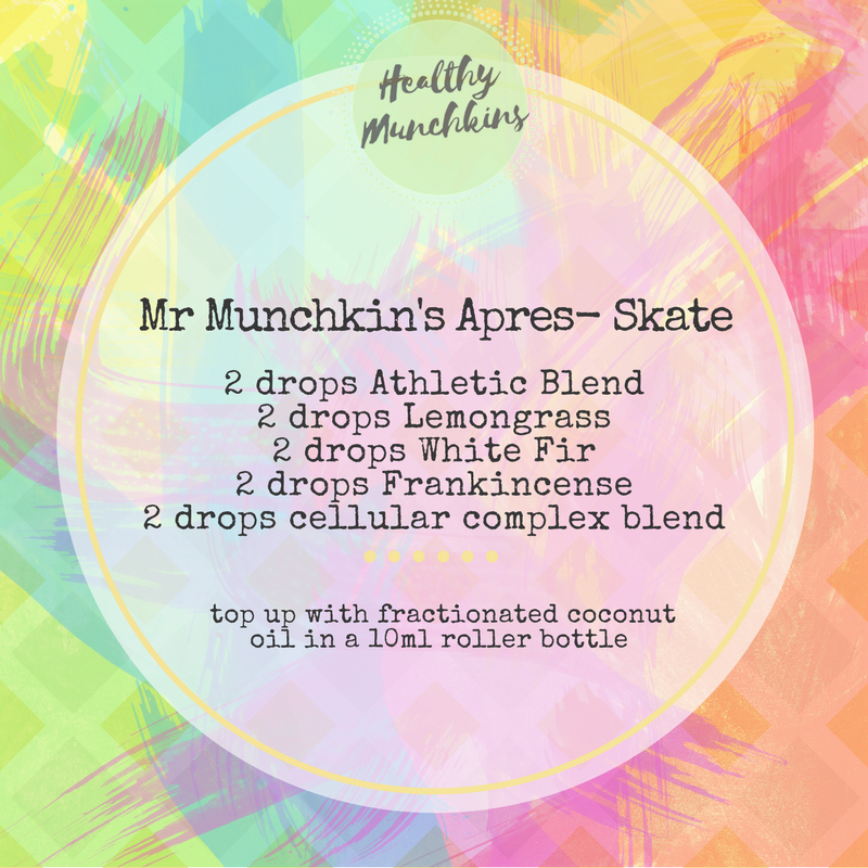 Topical blend - apres skate - healthy munchkins