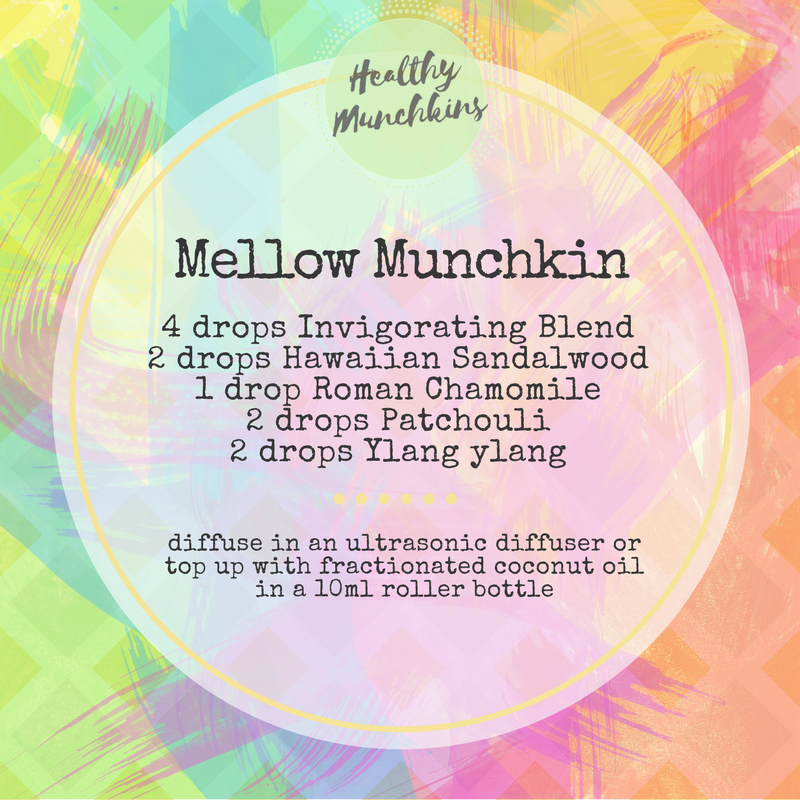 Topical blend - mellow munchkin - healthy munchkins