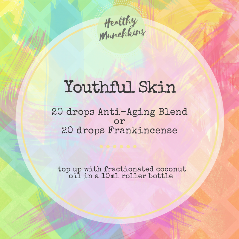 Topical blend - youthful skin - healthy munchkins